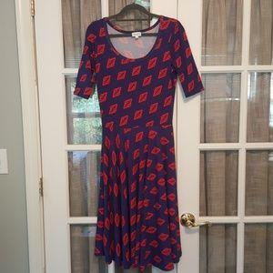 LuLaRoe Geometric Print Nicole Dress  E155